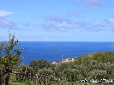 Independent property with land and stunning sea view
