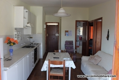 Fully furnished two-bedroom apartment at 100 meters to the beach
