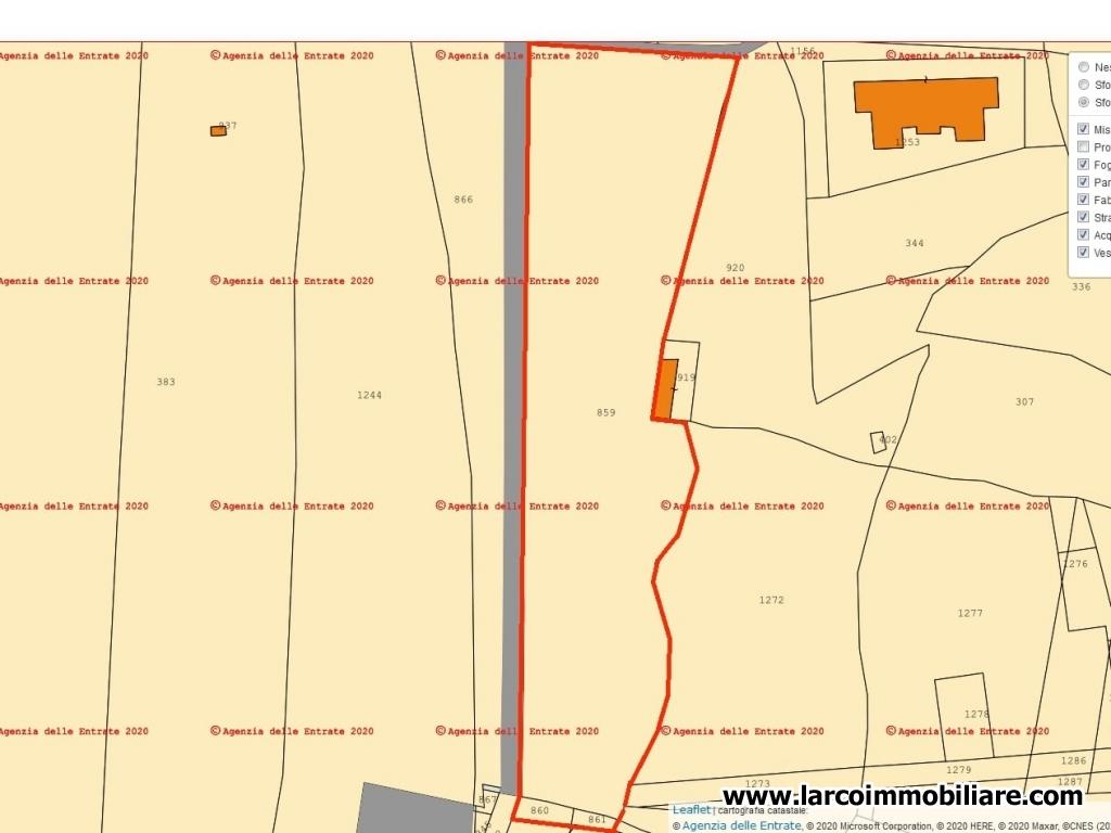 Visione mappe catastali dell'Agenzia delle Entrate