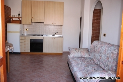 Two-bedroom apartment with large balcony