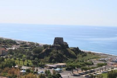 Appartamento nel centro storico di Scalea con splendida vista mare
